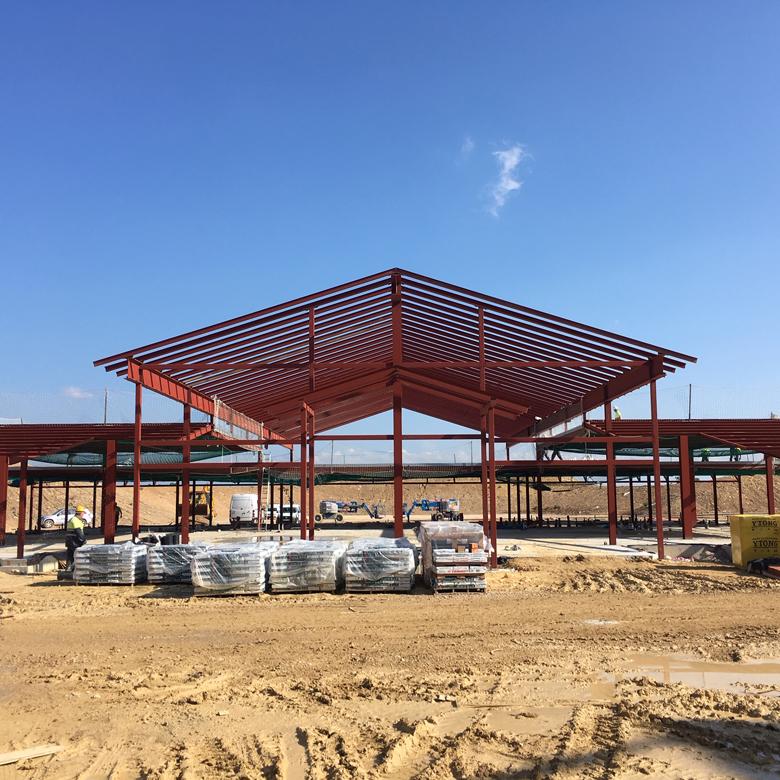 Parc d'attractions PortAventura | Culleré Sala Structures