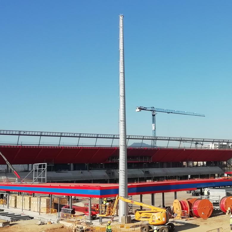 Stade Johan Cruyff | Culleré Sala Structures