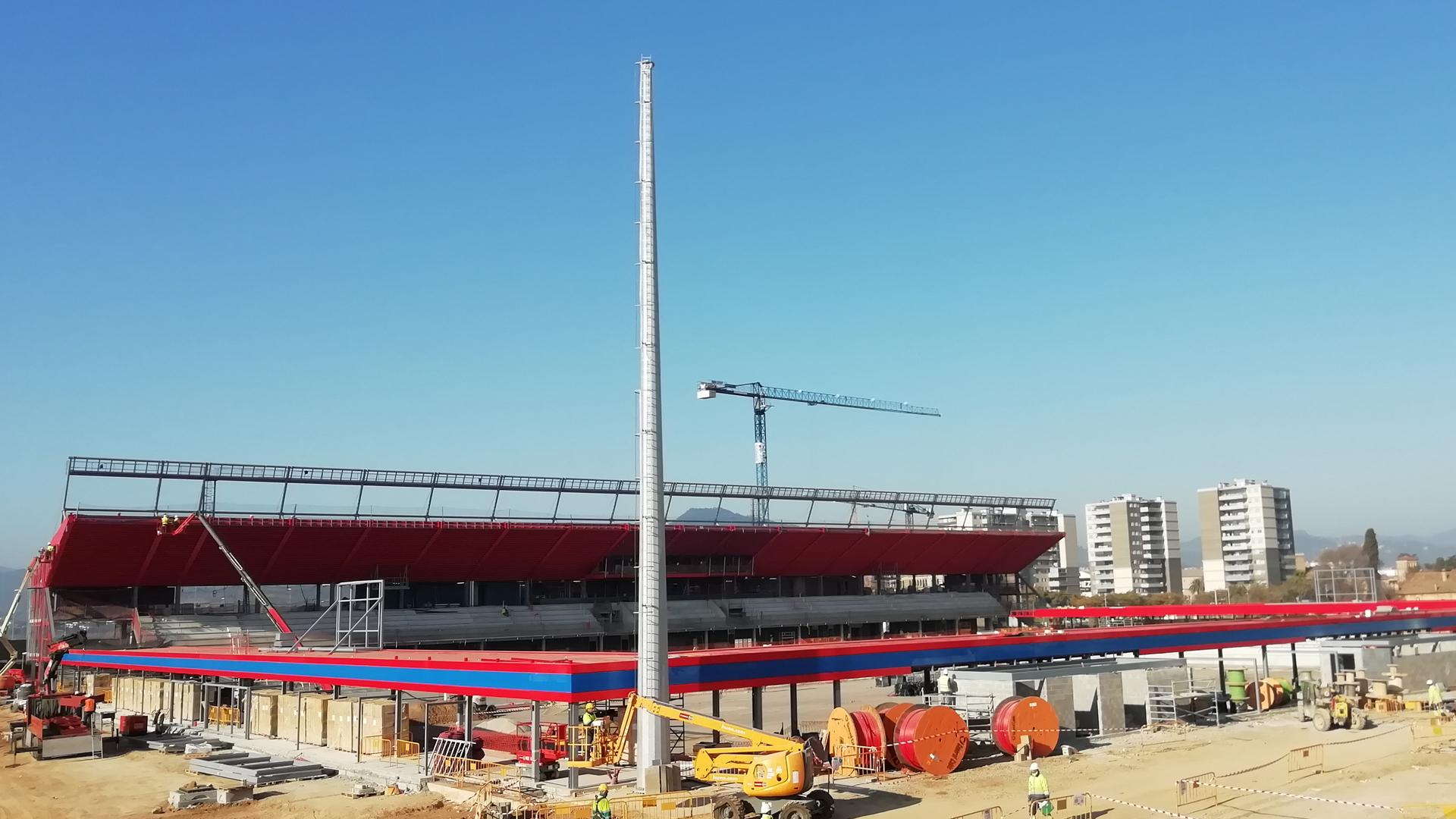 Estadi Johan Cruyff | Culleré Sala Structures