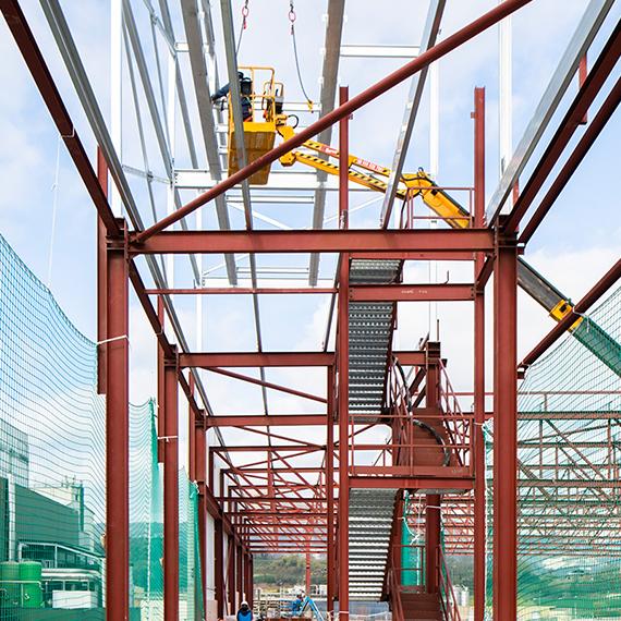 Casa Tarradellas, warehouse P5 | Culleré Sala Structures